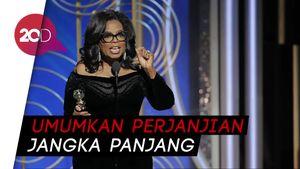 Oprah Winfrey Digaet Apple untuk Layanan Streaming