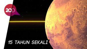 Asik! Bisa Lihat Planet Mars Lebih Dekat Bulan Juli