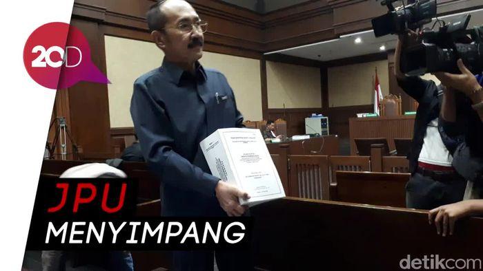 Bacakan Pleidoi, Fredrich Serang JPU