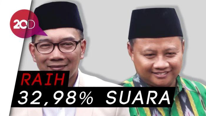 Ridwan Kamil-Uu Menang Versi Quick Count LSI Denny JA