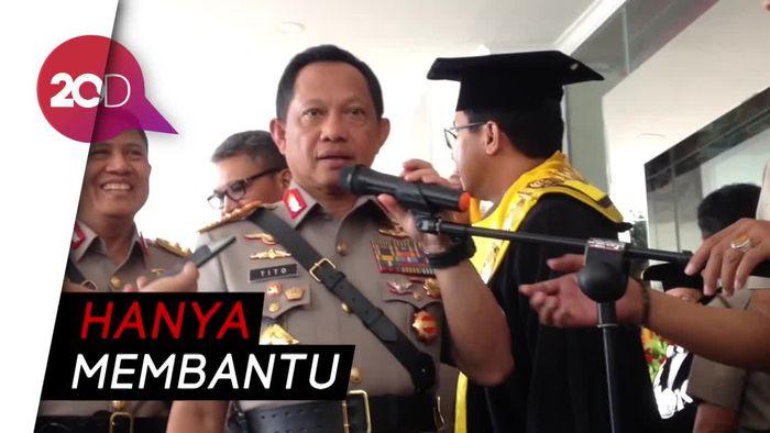 Tito Minta Polisi Dilibatkan dalam Pengawasan Angkutan Air