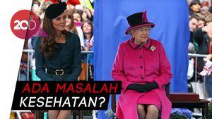 Ratu Elizabeth II Absen di Acara Pembaptisan Pangeran Louis