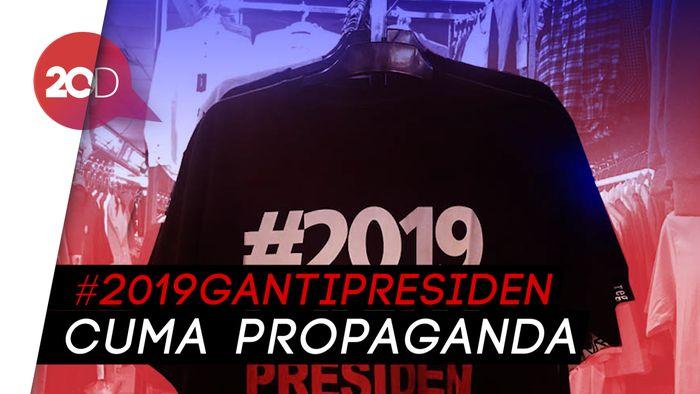 Marak #2019GantiPresiden, PDIP: Lalu Siapa Penggantinya?