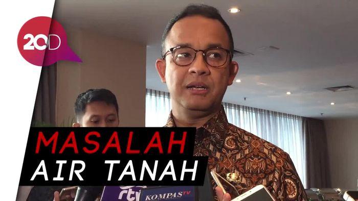 Anies : Tanah di Jakarta Turun 17 cm per Tahun