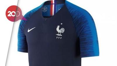 Sold Out! Jersey Griezmann, Mbappe dan Kante