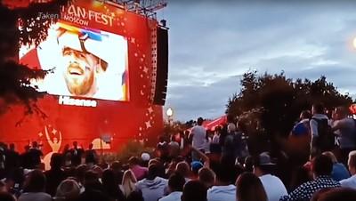 Kemeriahan Fan Fest di Moskow