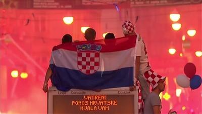 Zagreb Memerah, Kroasia Pesta Pora