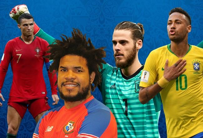 Rambut Terbaik di Piala Dunia 2018, Salon d'Or