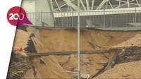 Piala Dunia Usai, Stadion Volgograd di Rusia Longsor