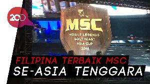 Dua Wakil Filipina Rebutkan Juara 1 MSC 2018