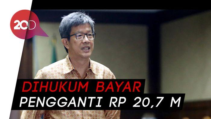 Terbukti Korupsi e-KTP, Anang Sugiana Divonis 6 Tahun Bui