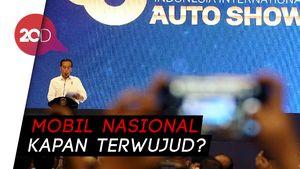 Soal Esemka, Jokowi akan Dorong agar Industri Berkembang