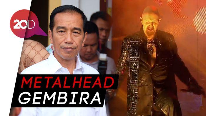 Judas Priest Undang Jokowi Tonton Konsernya Lewat Twitter