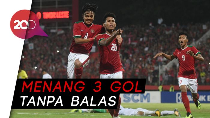 Indonesia ke Semifinal Piala AFF U-16 Usai Gulung Timor Leste