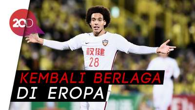 Axel Witsel Gabung ke Dortmund