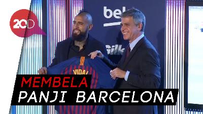 Vidal Tak Sabar Bermain dengan Messi