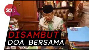 Reaksi Ketua PBNU Dengar Ma'ruf Amin Dipilih Jokowi