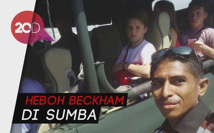 Warga Sumba Ini Terkejut, Nggak Nyangka Beckham ke Kampungnya
