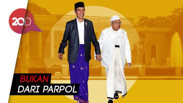 3 Nama Calon Ketua Timses Jokowi-Ma'ruf Berinisial M