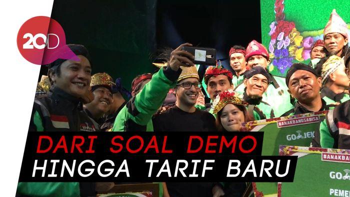 Go-Jek Bantah Naikkan Tarif karena Ancaman Demo dari Driver