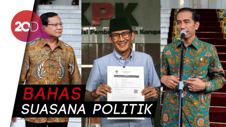 Prabowo-Sandi Ingin Sowan ke Jokowi