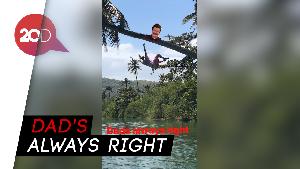 Lihat Aksi Kocak Keluarga Beckham Nikmati Liburan di Indonesia
