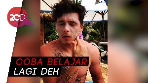 Netizen Salfok dengan Cara Pakai Sunblock ala Brooklyn Beckham