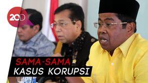 Jejak Sahabat Senasib Idrus Marham dan Setya Novanto