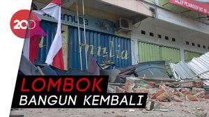 Lombok Bebenah, Fasilitas Umum Ditargetkan Rampung Akhir 2018
