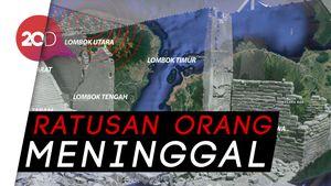Sebulan Berlalu Sudah, Inilah Gempa Lombok dalam Angka