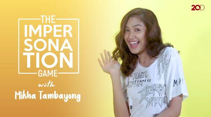 Kocaknya Impersonation Game Bareng Mikha Tambayong