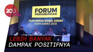 Kebijakan Ganjil Genap Asian Games Bisa Dipermanenkan, Asal…