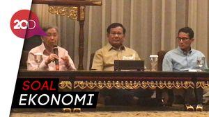 Ini yang Dibahas Prabowo-Sandi Bareng Kwik Kian Gie