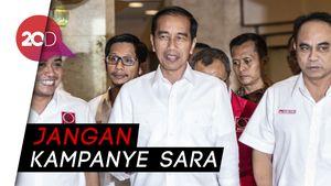 Jokowi: Pilpres 2019 Ajang Adu Gagasan, Prestasi dan Rekam Jejak