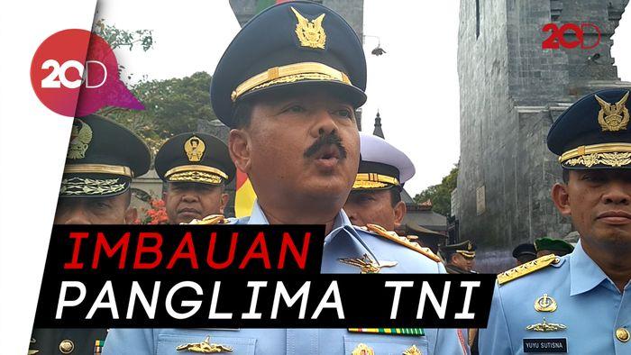 Ada TNI yang Tak Netral di Pemilu, Laporkan!