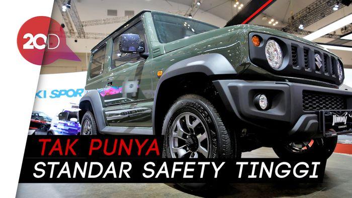 Suzuki Jimny Bertekuk Lutut Saat Crash test