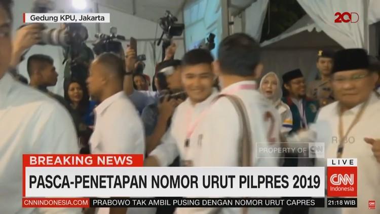 Pasca Penetapan: Jokowi Tegaskan BerSATU, Prabowo Joget