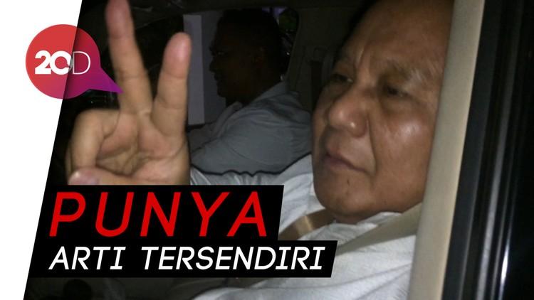 Prabowo Ungkap Filosofi Nomor Urut 2 di Pilpres 2019