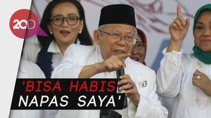Maruf Amin: Kalau Ada yang Bilang Saya Joget, Mungkin Rabun!