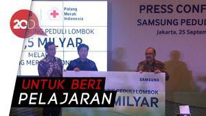 Penjualan Menurun Pasca Gempa Lombok, Samsung Tak Masalah