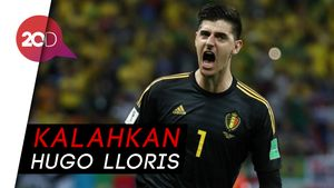 Thibaut Courtois Jadi Kiper Terbaik Dunia FIFA