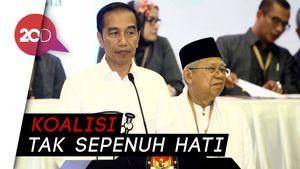 Basis PD Lebih Dukung Jokowi-Maruf Ketimbang Prabowo-Sandi