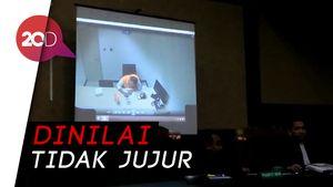 Dinilai Tidak Jujur, Jaksa Putar CCTV Pemeriksaan