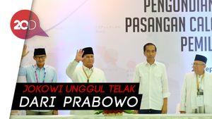 LSI Denny JA: Suara Jokowi Ungguli Prabowo di Semua Pulau