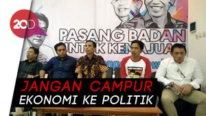 Relawan Jokowi: Tim Ekonomi Sebelah Cuma Omdo