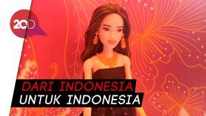 Cantiknya Barbie dengan Balutan Batik Indonesia
