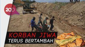 Jumlah Korban Tewas Gempa-Tsunami Sulteng Jadi 1.944 Jiwa