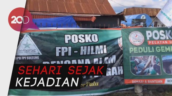 Ratusan Relawan FPI Diterjunkan Tangani Korban Bencana Sulteng