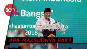 Copas Slogan Trump, Prabowo: Make Indonesia Great Again