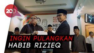 Kapitra, Razman, dan Eks 212 Deklarasi Dukung Maruf Amin